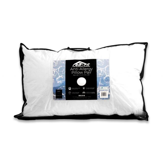 REM-Fit Anti-Allergy Pillow (pair)