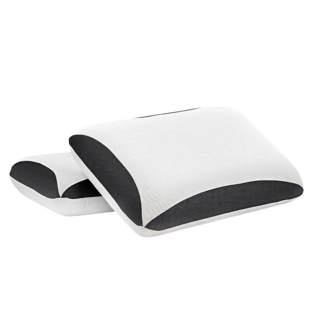 REM-Fit® Bamboo Charcoal Pillow (choice of depths)