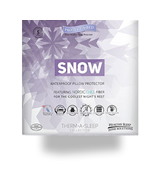REM-FIT SNOW PILLOW PROTECTOR