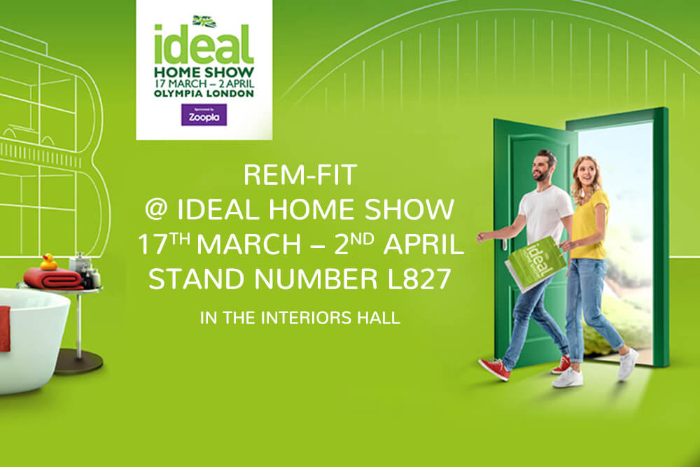 REM-Fit and Zeeq Exhibiting at the Ideal Home Show!