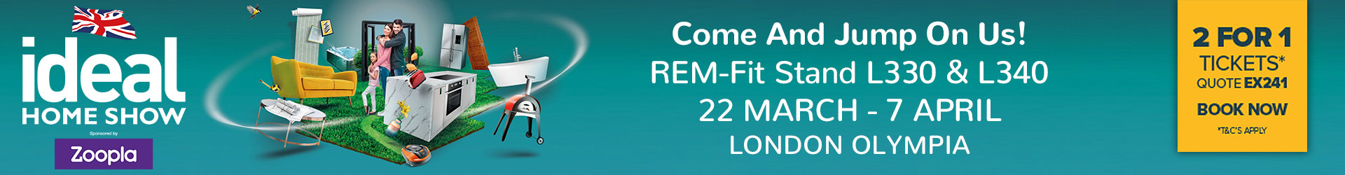 REM-Fit at the Ideal Home Show